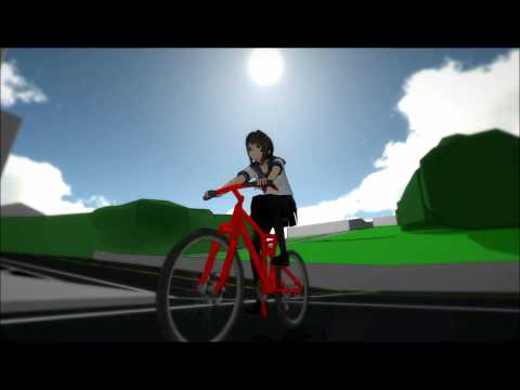 Image result for yandere-chan bike