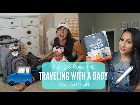 TRAVELING WITH A BABY// What I pack// Essentials //Tips