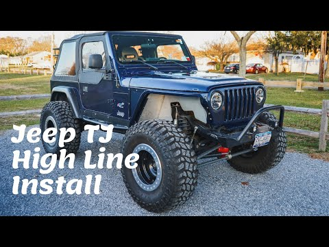 Jeep TJ HighLine Fender Install