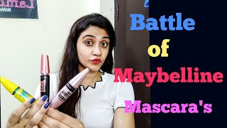 Battle of Maybelline Mascara 39 s - Which one is the best Lashsensetional vs Colossal vs Hypercurl