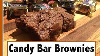 Candy Bar Brownies