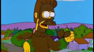 The Simpsons: Viva Ned Flanders part 3 (english-ingles)