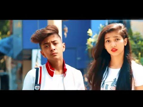 😢 Tu Pyaar Hai Kisi Aur Ka     Full Video Song   Rahul Aryan   Cute School Couple Video   Earth