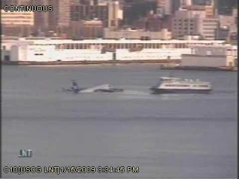 Video Of Us Airways Descent Into Hudson River Released Youtube