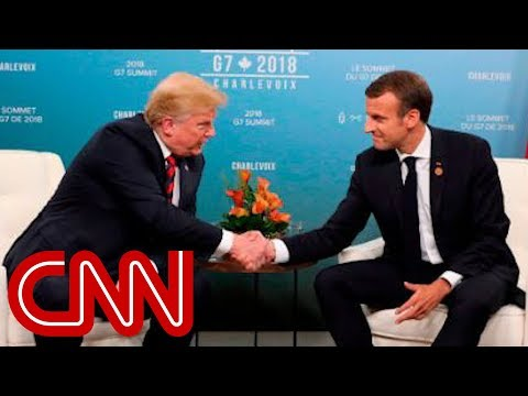 Trump to Macron: Why don't you leave the European Union?