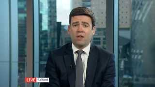 Andy Burnham on the Tories and SNP, tax and welfare