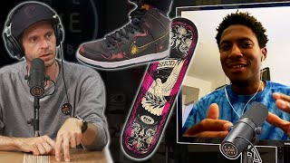 Old Board With New Shoes? Or New Board With Old Shoes? - Ishod Wair