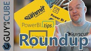 Power BI Lingo, RegEx, Data and BI Summit and more... (April 26, 2018)