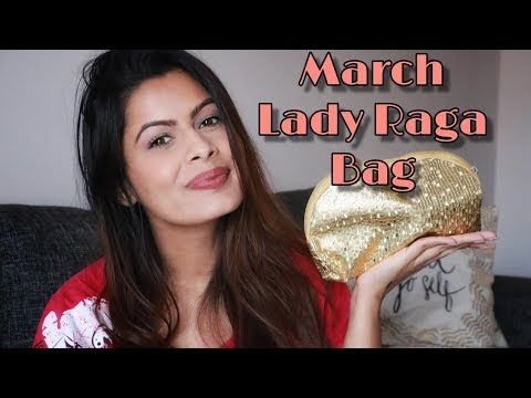 Lady Raga Bag March 2019 - Unboxing - Kavya K - 동영상