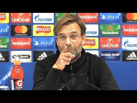 Jurgen Klopp Full Pre-Match Press Conference - Liverpool v Spartak Moscow - Champions League