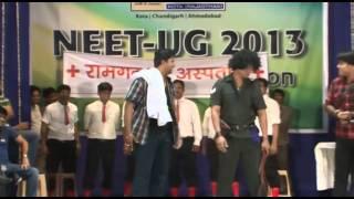 Gabbar Singh in a new look .  Moment- ( ALLEN Victory Celebration NEET-UG 2013 )