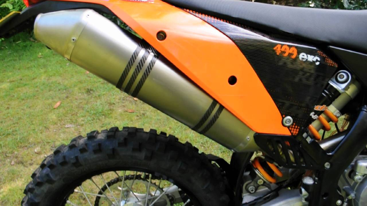 ktm 400 exc 2009 only 780 miles - youtube