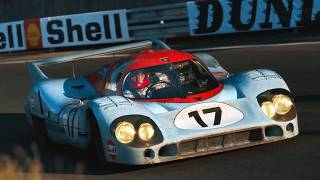 Derek Bell: what it feels like to do  249mph at Le Mans. At night.