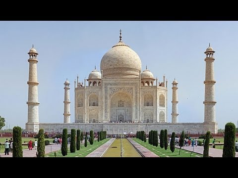 Taj Mahal In Hd Learn To Draw One Of The Seven Wonders