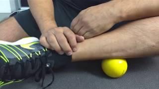Panturrilha um você rasgado rapidamente da Como cura músculo
