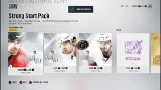 NHL® 18 HUT Ripping packs and getting superstars!!!