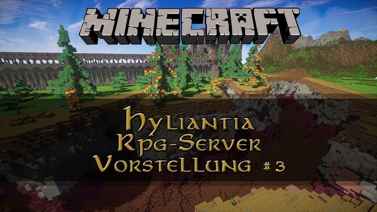 Hyliantia Minecraft RPG Server Deutsch Teil YouTube - Minecraft rpg server erstellen