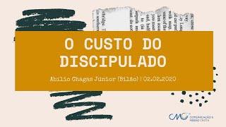 O custo do discipulado