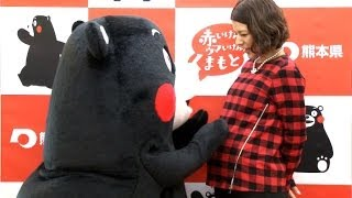 タレントのスザンヌが5日、都内で行われた熊本県首都圏広報事業記者会見...