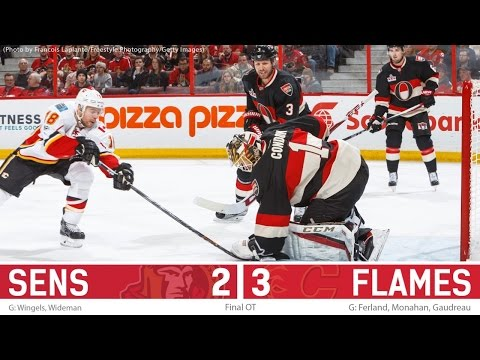 Jan 26: Sens vs. Flames - Post-game Media