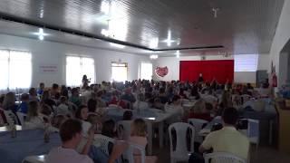 Palestra - Educaçao, Familia e Escola(É POR AQUI) Ainor Francisco Lotério