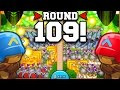 Bloons TD Battles | ROUND 100+ TACTICS! LATE GAME STRATEGY!