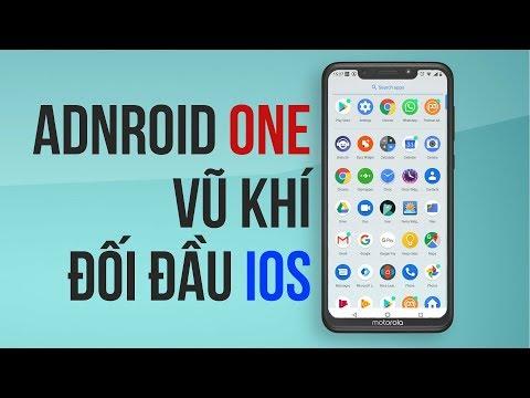 Android One: Vũ Khí để Android đối đầu Với IOS
