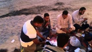 Exclusive: first video of the new workers of the Suez Canal moment breakfast Ramadan 2015