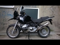 BMW R 1100 GS Exhaust GoPro