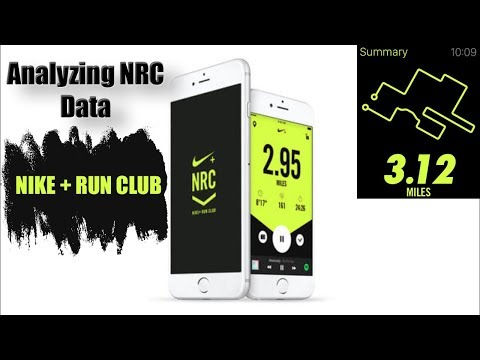 Analyzing Your Running Data W Nike+ Run Club (NRC) - IPhone App For Runners