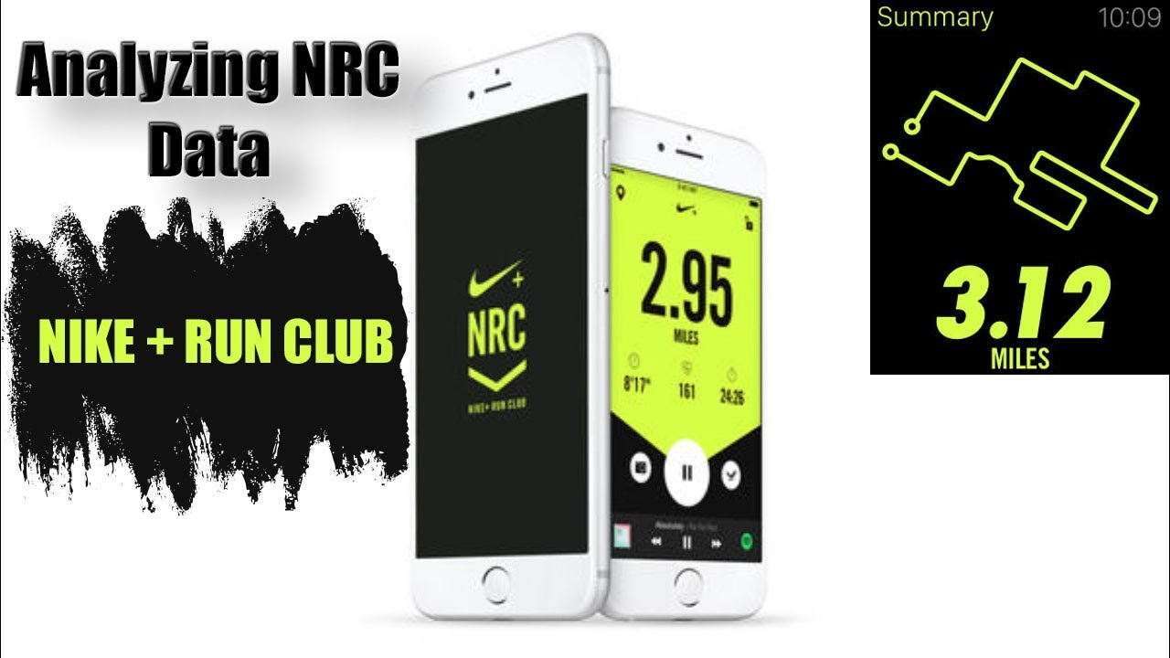 Cliente de repuesto Descubrir  Analyzing your running data w Nike+ Run Club (NRC) - iPhone App for Runners  - YouTube
