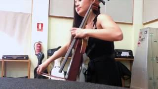 Tina Guo - Batman: The Dark Knight Rehearsal with the Tenerife Symphony