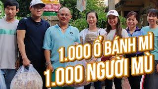 Sống Yêu Thương #23: Hàng ngàn người khiếm thị ấm lòng với 1 ngàn ổ bánh mì tình thương của chị Lam