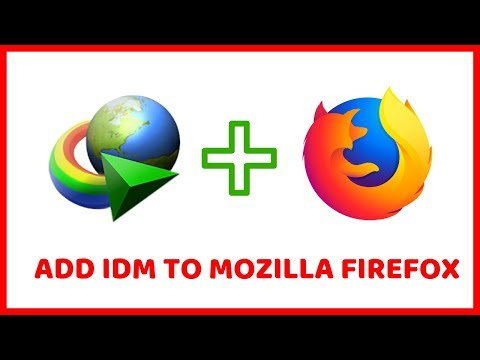 📌How To Add IDM Extension To Mozilla Firefox Browser Manually | Internet Download Manager 2019✔️