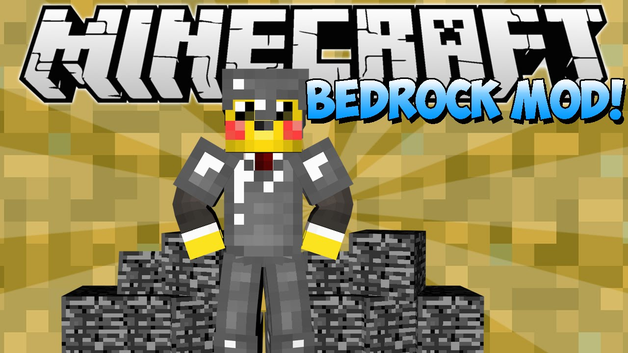 MINECRAFT - BEDROCK MOD! - YouTube