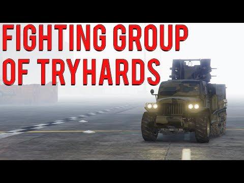War Against Multiple Tryhards | Gta 5 Online