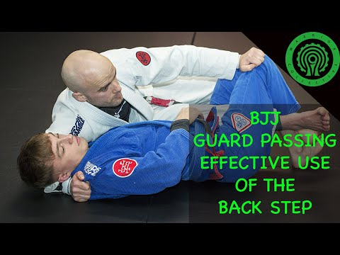 BJJ Techniques - How to Use the Back Step for Effective Guard Passing with Adam Adshead