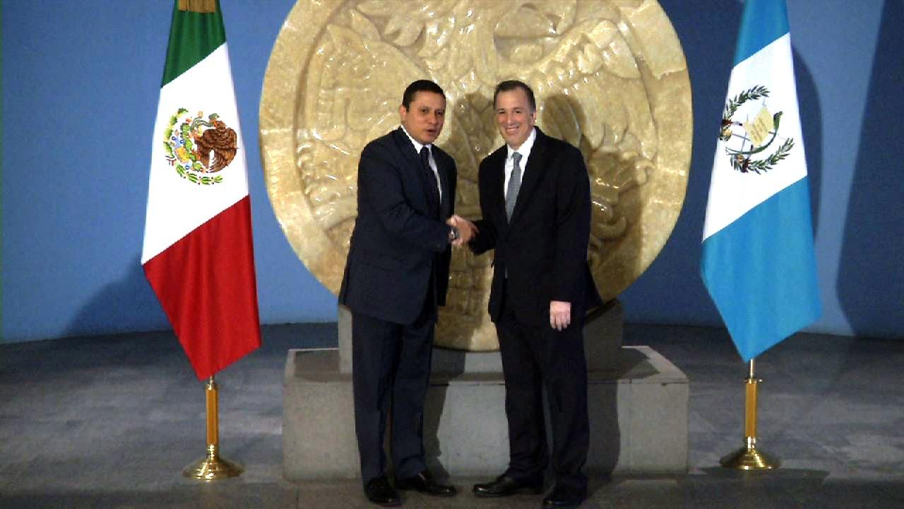 Visita Ministro De Relaciones Exteriores De Guatemala Youtube