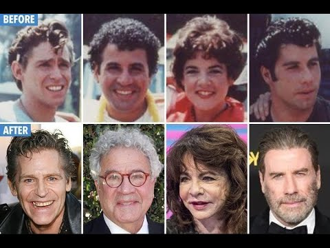 Grease (1978 Film)  Cast Then And Now 2019