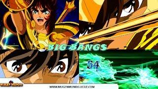"""Saint Seiya Ultimate Cosmo 1.9 - TODOS OS ESPECIAIS """"BIGBANG"""" #Mugen #AndroidMugen"""