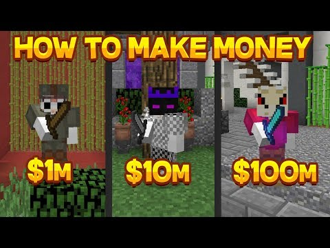 BEST Way To MAKE MONEY EARLY Game, MID Game And LATE Game On Hypixel Skyblock