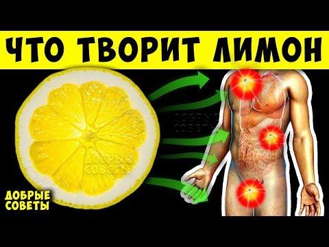 Ешь Лимон Каждый день и Увидишь, что Случится с Организмом