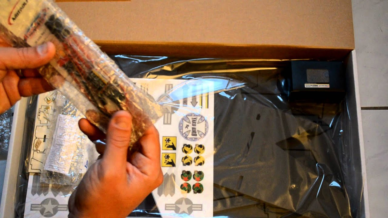 Yardbird Rc Yb22 Pusher Plane Unboxing