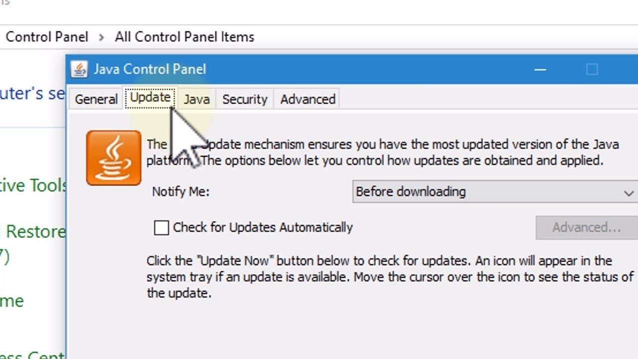 java update for windows 10 64 bit free download