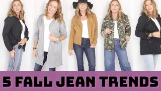 5 Jean Trends you NEED this FALL 2019 Over 40