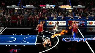 NBA Jam - Xbox 360 - Classic Bulls vs Modern LA Clippers - Jayysus
