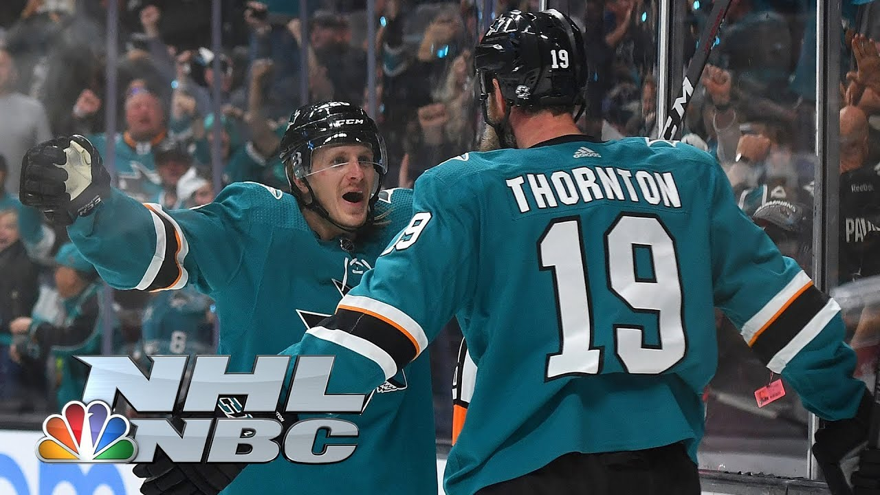 Live playoff updates: Game 1, Sharks vs. Blues; Sharks lead after two