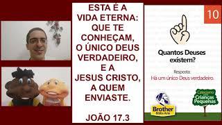 Catecismo para Crianças Pequenas - Pergunta 10