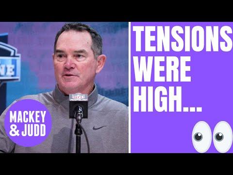 Minnesota Vikings had 'intense moments' in NFL Draft war room