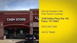 Cash Store is Now Offering Payday Loans in Plano, TX